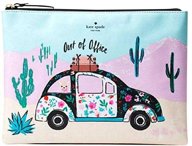 Item - New Horizons Out Of Office Gia Multicolor Canvas Clutch