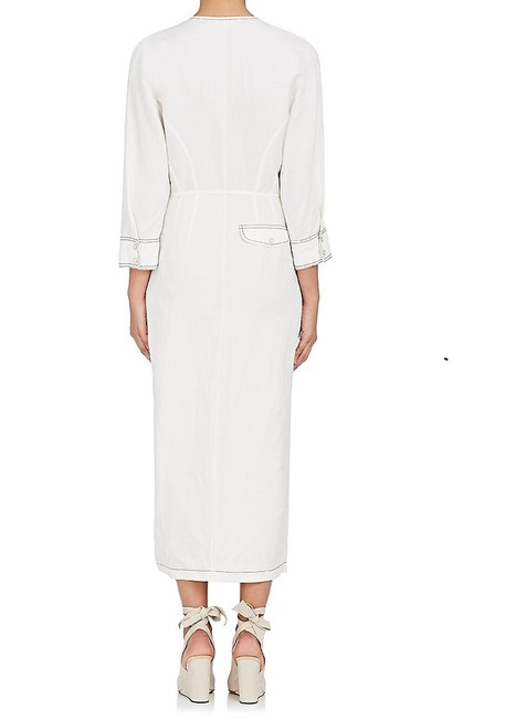 Derek Lam short dress White Pleated on Tradesy