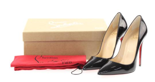 Christian Louboutin Sokate Kate Pigalle Stiletto Classic Black Pumps