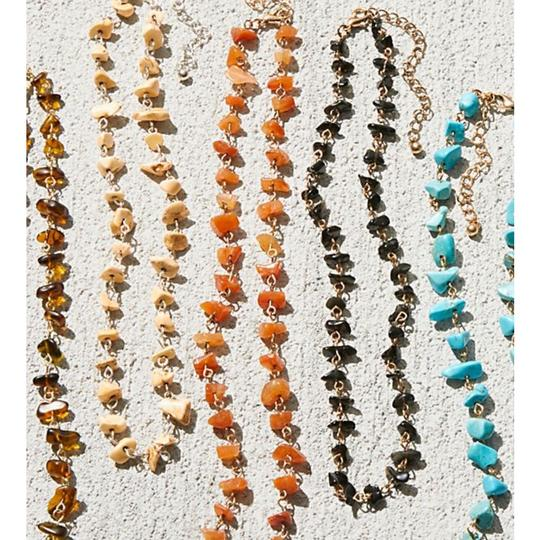 Free People free people Raw stone necklace
