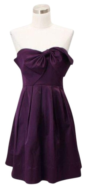 Preload https://item1.tradesy.com/images/rebecca-taylor-purple-a02-designer-extra-small-bow-mid-length-formal-dress-size-2-xs-23567395-0-1.jpg?width=400&height=650