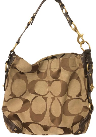 Preload https://item5.tradesy.com/images/coach-signature-brown-canvas-hobo-bag-23567409-0-1.jpg?width=440&height=440