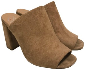 Delicious Beige / nude/ brown Mules