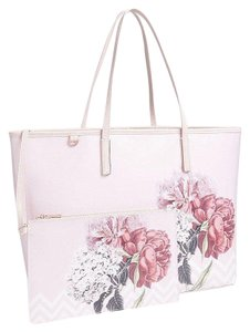 Ted Baker Palace Gardens & Shopper Shoulder Book Diaper Tote in Pink