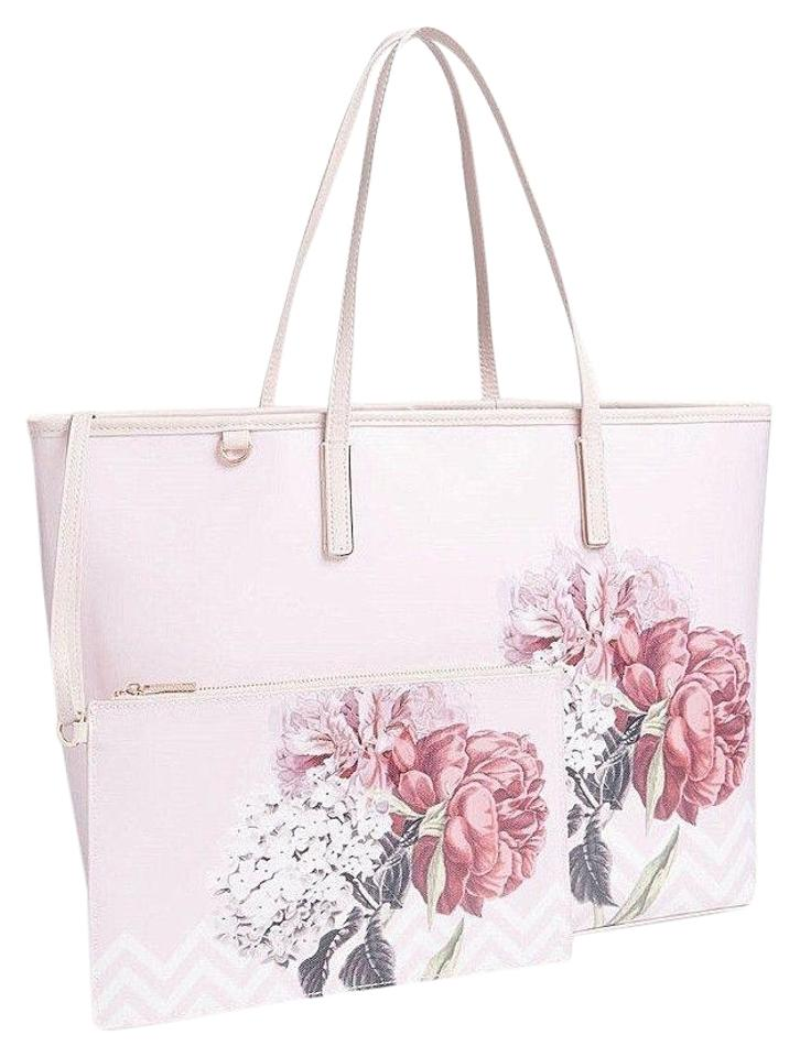 8ed52a67a Ted Baker Palace Gardens & Shopper Shoulder Book Diaper Tote in Pink Image  0 ...