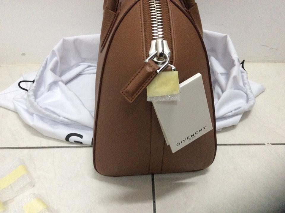 b383f5fe2c37 Givenchy Antigona Medium Cognac Fw17 Calfskin Leather Tote - Tradesy