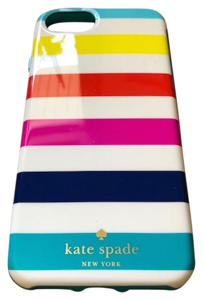 half off aac37 c2a62 Kate Spade White with Stripes Iphone 6s Case Tech Accessory
