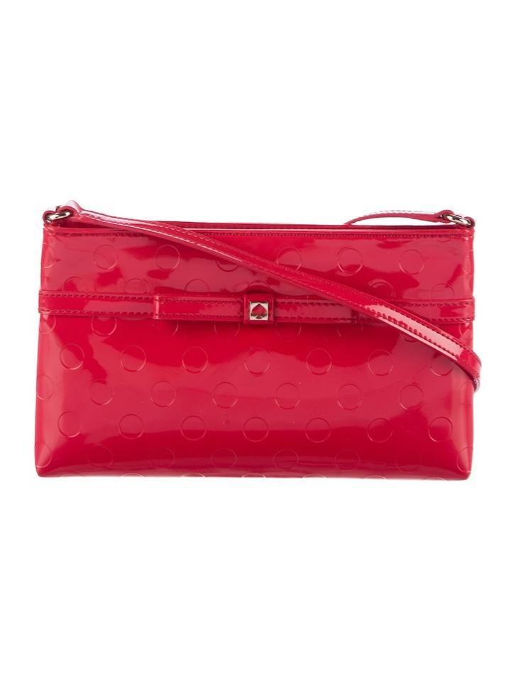 1bb73c57d5e Kate Spade Camellia Street Amy Red Patent Leather Cross Body Bag ...