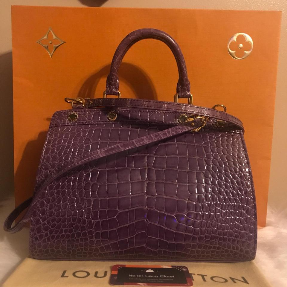 a60974725eb509 Louis Vuitton Brea Exotic #11 Rare Find Pm Retails For Purple ...