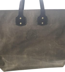 Ghurka Tote in Brown and Tan mixed
