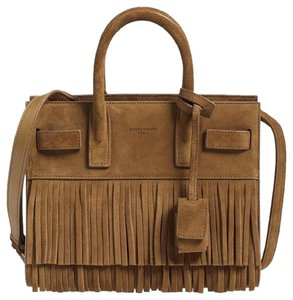 Saint Laurent #saintlaurentbag #sacdejour #sacdejournano #sacdejourfringe Satchel in Tan