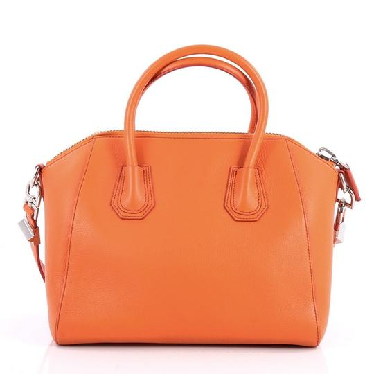Givenchy Leather Satchel in Orange