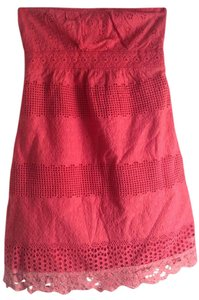 Anthropologie short dress Coral Shower on Tradesy