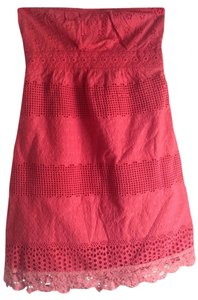 Anthropologie short dress Coral Date Night Cute Sexy on Tradesy