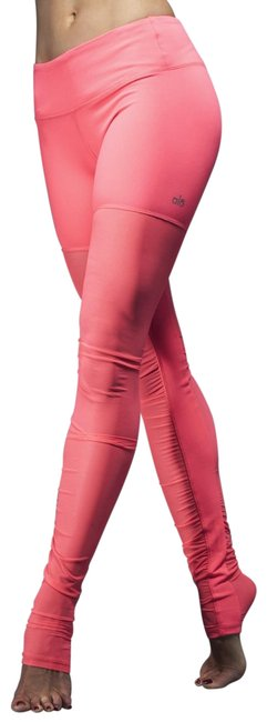 Item - Pink / Orange Women's Goddess Goddess Mesh Activewear Bottoms Size 8 (M, 29, 30)