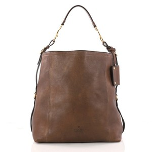 7d96e37ffe1b Added to Shopping Bag. Gucci Leather Hobo Bag. Gucci Large Harness ...