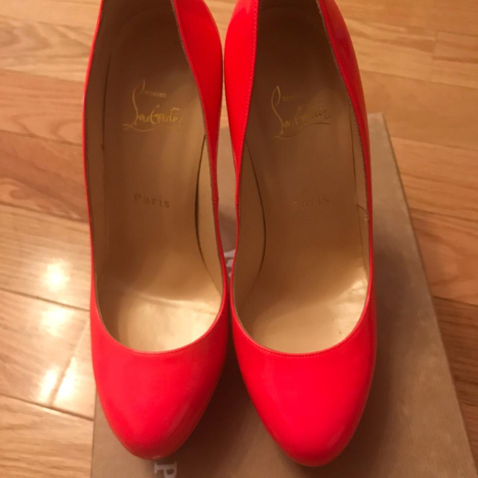 Louboutin Rose Paris Christian Pumps Hot Pink 1130261 U1q5zx5dw