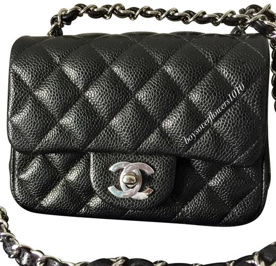 07e2145262d7b0 Chanel Classic Flap Square Mini Caviar Mini Mini Flap Mini Shoulder Bag  Image 0 ...