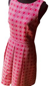 Tahari short dress pink on Tradesy