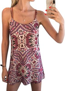 Marabelle short dress multicolor on Tradesy