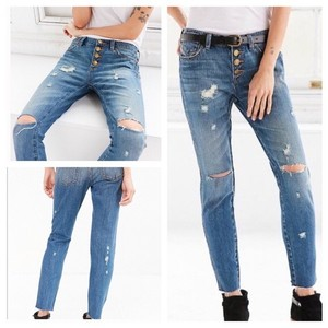 Urban Outfitters Boyfriend Cut Jeans-Distressed