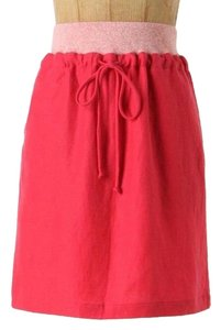Anthropologie Mini Skirt Pink