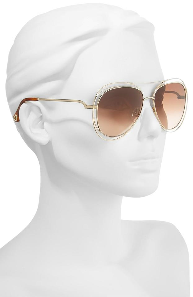acc53aef1218d Chloé CHLO 61mm Aviator Sunglasses Image 0 ...
