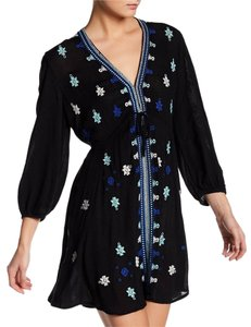 Free People short dress Longsleeve Embroidered on Tradesy