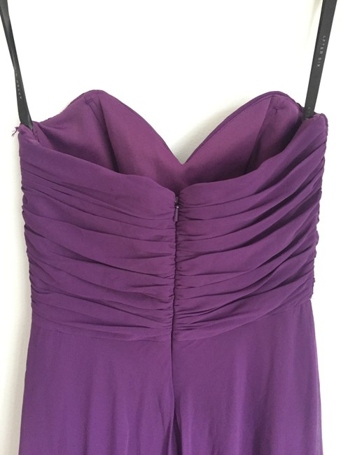 After Six Chiffon Purple Dress Image 3