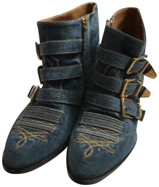 Item - Blue Denim Suzanna Boots/Booties Size EU 39 (Approx. US 9) Regular (M, B)