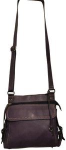 Fossil Leather Milti-pocket Tag/Key Vintage Satchel in Brown
