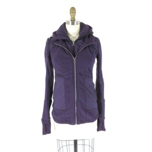 Lululemon Athletic Hooded Lined Purple Jacket
