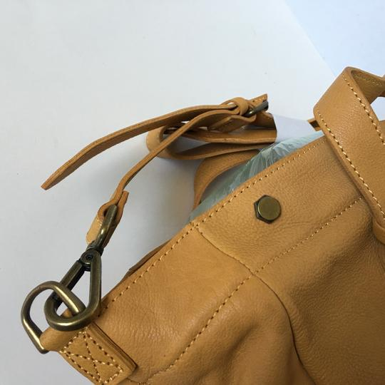 Madewell Satchel in Vintage Gold