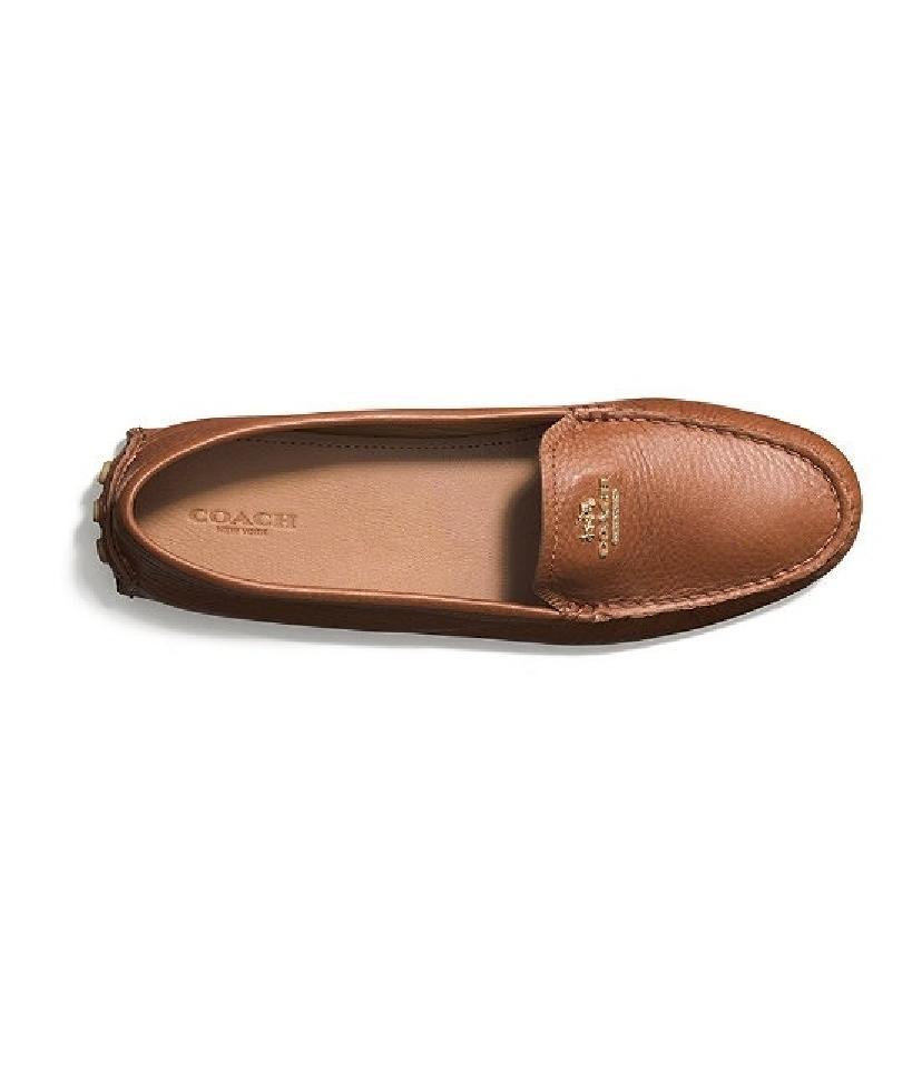 e68ec28eede Coach Brown Saddle Women s Nancy Driving Loafers Flats. Size  US 8.5 Regular  ...
