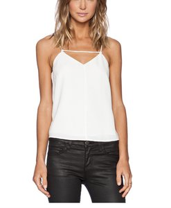 Finders Keepers Blouse V-neckline Top White