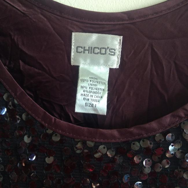 Preload https://img-static.tradesy.com/item/23572254/chico-s-sequin-sleeveless-in-good-condition-1medium-205-inch-wide-and-24-inch-long-tank-topcami-size-0-1-650-650.jpg