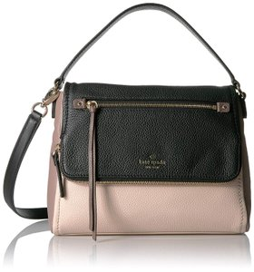 Kate Spade Cobble Hill Small Toddy Satchel Cloud/Porcini New York Soft Pebble Leather Cross Body Bag