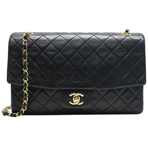 3f493eb9cb70 Chanel Vintage Lambskin Single Flap Shoulder Bag