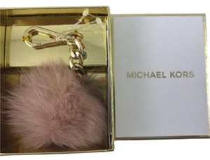 Michael Kors Michael Kors Fur Pom Key Charm chain with gift box NWT