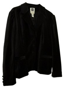 Old Navy 2x 18/20 Velvet Jacket Black Blazer