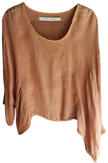 Item - Burnt Orange Blouse Size OS (one size)