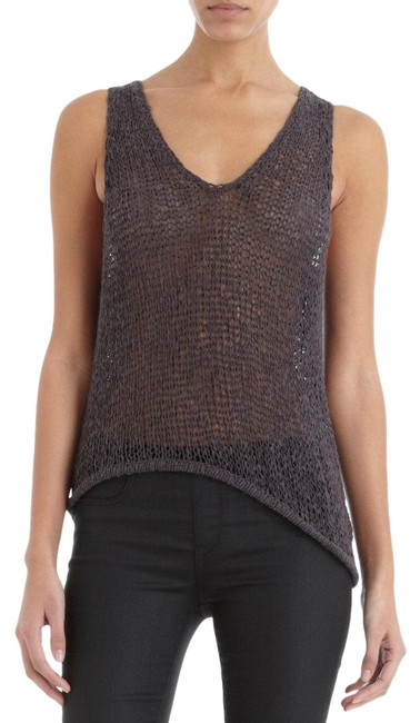 Item - Chocolate Asymetrical Sweater Tank Top/Cami Size 4 (S)