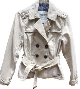 Abercrombie & Fitch tan Jacket