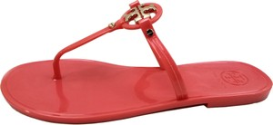 Tory Burch Flip Flops Jelly Thong Coral Sandals