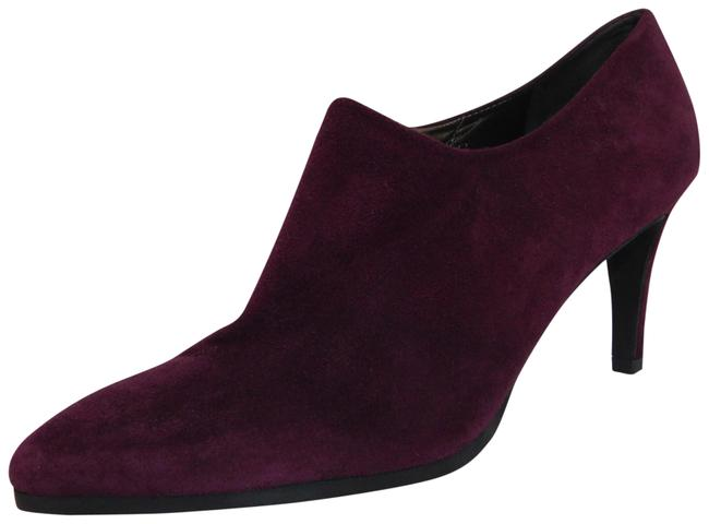 Item - Burgundy New Standin Suede Ankle Boots/Booties Size US 10 Regular (M, B)