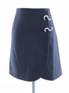 Tibi Mini Skirt Navy