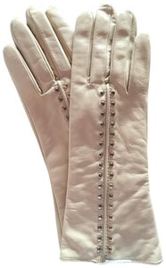 Michael Kors Michael Kors Bone Leather Glove