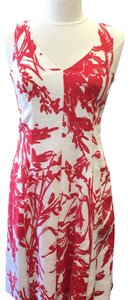 Red / White Maxi Dress by Coldwater Creek
