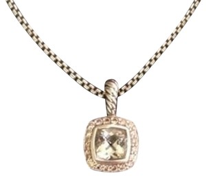 David Yurman David Yurman Petite Albion Prasiolite Necklace