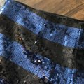 Forever 21 Blue and Black Sequin Shorts Size 4 (S, 27) Forever 21 Blue and Black Sequin Shorts Size 4 (S, 27) Image 6